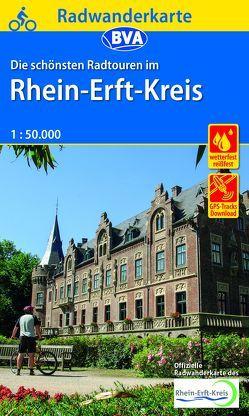 Radwanderkarte BVA Die schönsten Radtouren im Rhein-Erft-Kreis 1:50.000, reiß- und wetterfest, GPS-Tracks Download