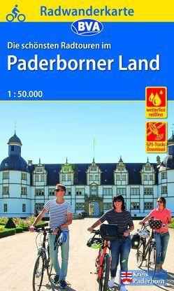 Radwanderkarte BVA Radwandern im Paderborner Land 1:50.000, reiß- und wetterfest, GPS-Tracks Download
