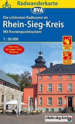Radwanderkarte BVA Radwandern im Rhein-Sieg-Kreis 1:50.000, reiß- und wetterfest, GPS-Tracks Download