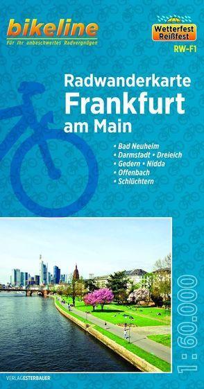 Radwanderkarte Frankfurt am Main von Esterbauer Verlag