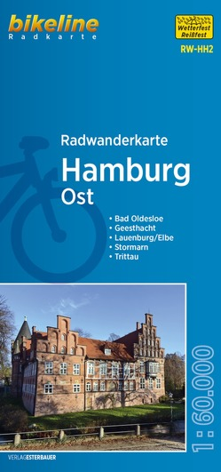 Radwanderkarte Hamburg Ost RW-HH2 von Esterbauer Verlag