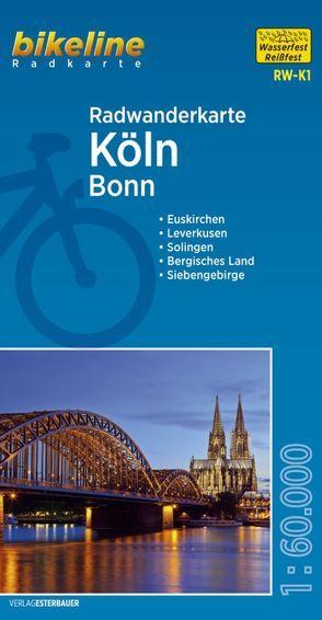 Radwanderkarte Köln RW-K1 von Esterbauer Verlag