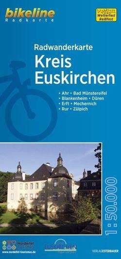 Radwanderkarte Kreis Euskirchen von Esterbauer Verlag