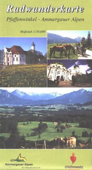 Radwanderkarte Pfaffenwinkel – Ammergauer Alpen