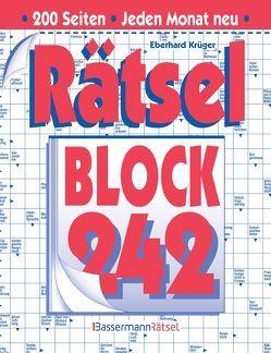 Rätselblock 242 (5 Exemplare à 2,99 €) von Krüger,  Eberhard