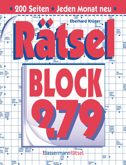 Rätselblock 279 von Krüger,  Eberhard