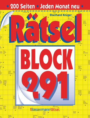 Rätselblock 291 (5 Exemplare à 2,99 €) von Krüger,  Eberhard