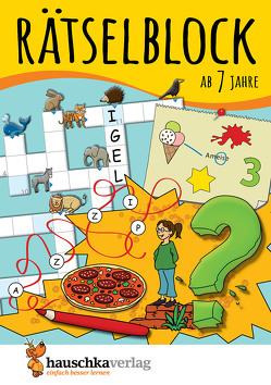 Rätselblock ab 7 Jahre, Band 1 von Agnes Spiecker, Specht,  Gisela
