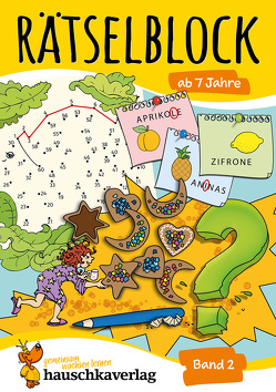 Rätselblock ab 7 Jahre, Band 2 von Agnes Spiecker, Specht,  Gisela