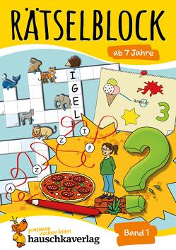Rätselblock ab 7 Jahre von Agnes Spiecker, Specht,  Gisela