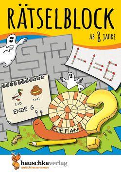 Rätselblock ab 8 Jahre, Band 1 von Agnes Spiecker, Specht,  Gisela