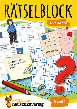 Rätselblock ab 9 Jahre, Band 1 von Agnes Spiecker, Specht,  Gisela