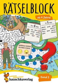Rätselblock ab 9 Jahre, Band 2 von Agnes Spiecker, Specht,  Gisela