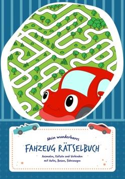 Rätselblock für Kinder (Fahrzeuge-Edition) – Rätsel für Kinder ab 6 Jahren – Logikrätsel, Malbuch, Labyrinthe und vieles mehr – Rätselspiele im Rätselbuch und Vorschulbuch – Grundschule von Rätsel Freude