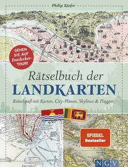 Rätselbuch der Landkarten von Kiefer,  Philip