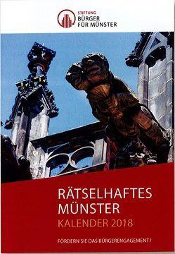 Rätselhaftes Münster 2018 von Klötzer,  Ralf, Lechtape,  Andreas