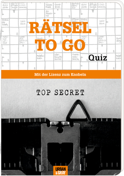 Rätselheft – Rätsel to go – Edition Quiz von Heine,  Stefan