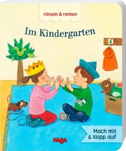 rätseln & reimen – Im Kindergarten von Hillebrand,  Pille, Leykamm,  Martina