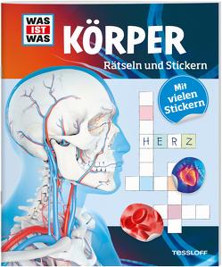 Rätseln und Stickern: Körper von Hebler,  Lisa, Winterstein,  Felicia