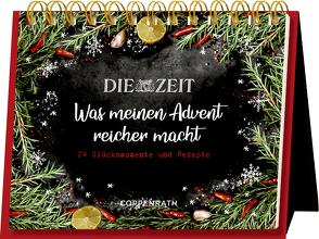 Rahmen-Tischkalender – Die ZEIT – Was meinen Advent reicher macht von Raether,  Elisabeth, Silvio,  Knezevic