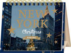 Rahmen-Tischkalender – New York Christmas Baking von Cawley,  Julia, Nieschlag,  Lisa, Prus,  Agnes, Wentrup,  Lars