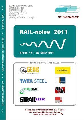 RAIL-noise 2011 von Schulz,  Eckhard