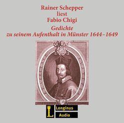 Rainer Schepper liest Fabio Chigi von Chigi,  Fabio, Schepper,  Rainer