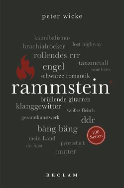 Rammstein. 100 Seiten von Wicke,  Peter