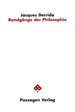 Randgänge der Philosophie von Ahrens,  Gerhard, Derrida,  Jacques, Engelmann,  Peter