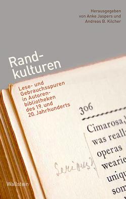 Randkulturen von Jaspers,  Anke, Kilcher,  Andreas B.