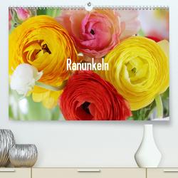 Ranunkeln (Premium, hochwertiger DIN A2 Wandkalender 2020, Kunstdruck in Hochglanz) von Kruse,  Gisela