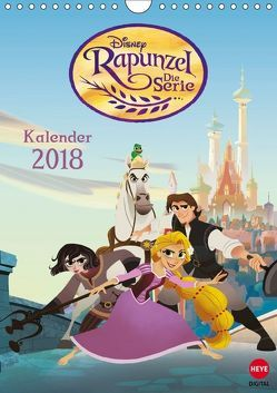 Rapunzel: Die Serie (Wandkalender 2018 DIN A4 hoch) von Disney,  k.A.