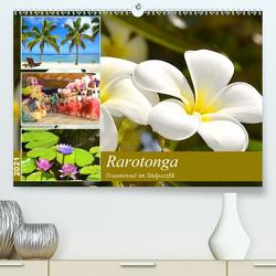 Rarotonga – Trauminsel im Südpazifik. (Premium, hochwertiger DIN A2 Wandkalender 2021, Kunstdruck in Hochglanz) von Schwarze,  Nina