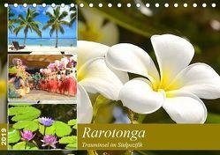 Rarotonga – Trauminsel im Südpazifik. (Tischkalender 2019 DIN A5 quer) von Schwarze,  Nina