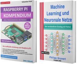 Raspberry Pi Kompendium + Machine Learning und Neuronale Netze (Hardcover) von Grunert,  Philipp, Pohl,  Sebastian