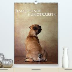 Rassehunde – Hunderassen (Premium, hochwertiger DIN A2 Wandkalender 2020, Kunstdruck in Hochglanz) von Behr,  Jana
