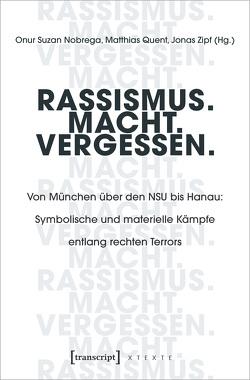 Rassismus. Macht. Vergessen. von Nobrega,  Onur Suzan, Quent,  Matthias, Zipf,  Jonas