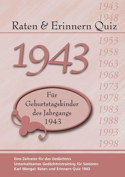 Raten und Erinnern Quiz 1943 von Karl,  Mangei