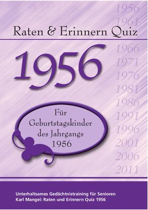 Raten und Erinnern Quiz 1956 von Karl,  Mangei
