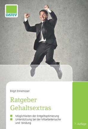 Ratgeber Gehaltsextras von Ennemoser,  Birgit
