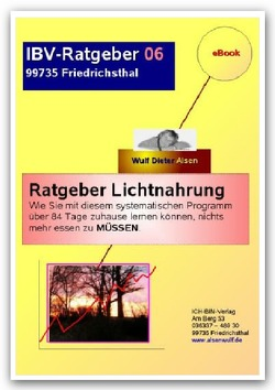 Ratgeber Lichtnahrung von Alsen,  Wulf