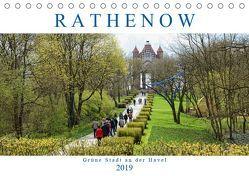 Rathenow – Grüne Stadt an der Havel (Tischkalender 2019 DIN A5 quer) von Frost,  Anja