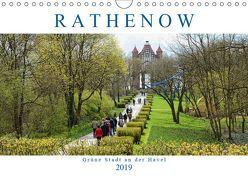 Rathenow – Grüne Stadt an der Havel (Wandkalender 2019 DIN A4 quer) von Frost,  Anja
