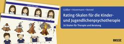 Rating-Skalen für die Kinder- und Jugendlichenpsychotherapie von Botved,  Annika, Gräßer,  Melanie, Hovermann jun.,  Eike