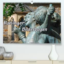 Ratinger Bilderbogen (Premium, hochwertiger DIN A2 Wandkalender 2020, Kunstdruck in Hochglanz) von Haafke,  Udo