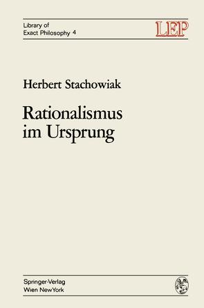 Rationalismus im Ursprung von Stachowiak,  Herbert