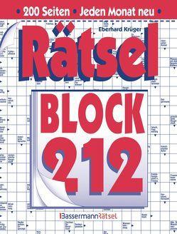 Rätselblock 212 von Krüger,  Eberhard