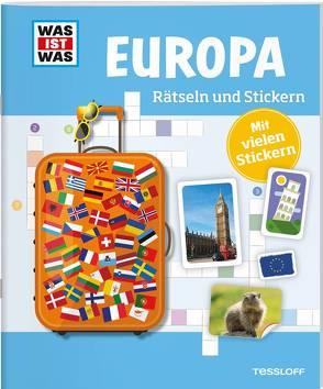 WAS IST WAS Rätseln und Stickern: Europa von Kunze,  Anja, Michna,  Janina