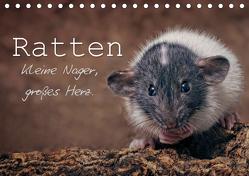 Ratten. Kleine Nager, großes Herz. (Tischkalender 2019 DIN A5 quer) von Nilson,  Thorsten