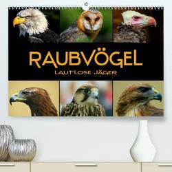 Raubvögel – lautlose Jäger (Premium, hochwertiger DIN A2 Wandkalender 2020, Kunstdruck in Hochglanz) von Bleicher,  Renate